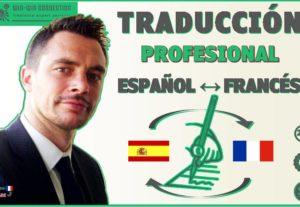 traducción francés – español o vice-versa de texto