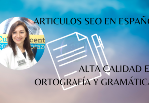Escribo artículos SEO en español para tu web