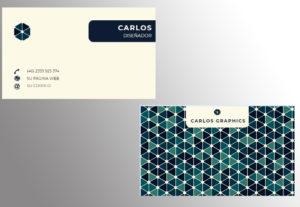 Crearé y diseñaré su tarjeta de empresa/particular