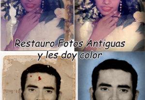Restauro su foto antigua y doy color si desea.