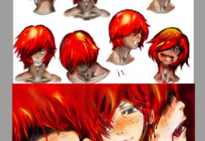 diseñaré concept character para tu proyecto