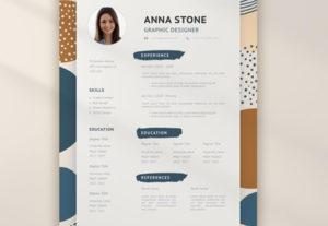 Crearé currículum vitae profesional o diseño de cv