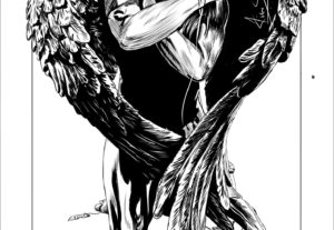 Entintaré tu webtoon, manga, comic o ilustración.