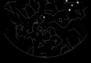 Mapa estelar, mapa de las estrellas,starmaps,cielo