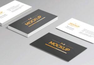 Diseño de Tarjetas de Presentación y Negocio
