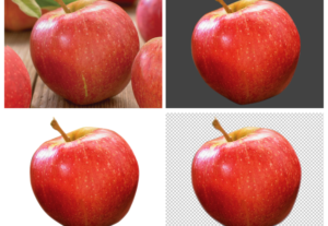 Eliminar fondo trazado de recorte hasta 6 imágenes