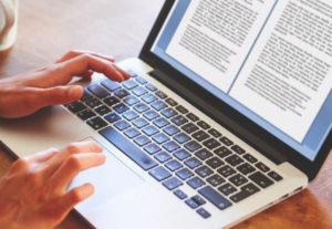 Transcripción, redacción y traducción de textos