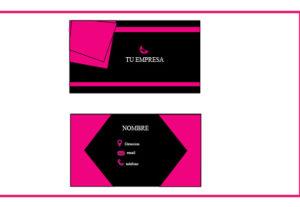 Haré tu tarjeta de presentación personalizada