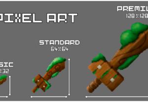 Hago los items de tu juego en pixel art.