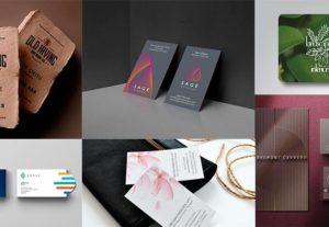 Diseño de tarjeta de presentación profesional