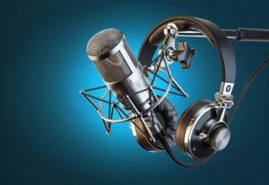 Grabación de voz  y  audio en  estudio profesional