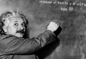 Pondré el texto que quieras en la pizarra Einstein