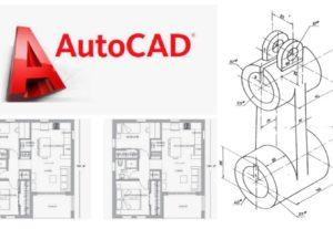 Diseño y/o Digitalización de Planos 2D en Autocad.
