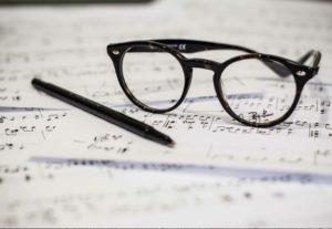 transcripción, edición y copia de partituras