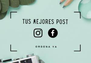 Post – Imágenes para Instagram y Facebook