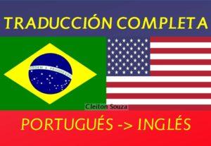 Traducción Profesional de Portugués a Inglés