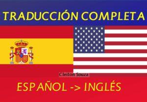 Traducción Profesional de Español al Inglés