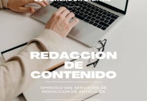¿Necesitas crear contenido para tu blog?