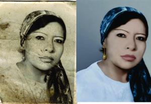 Restauración de fotografías antiguas o rasgada