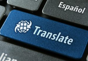 translation of texts from english to spanish