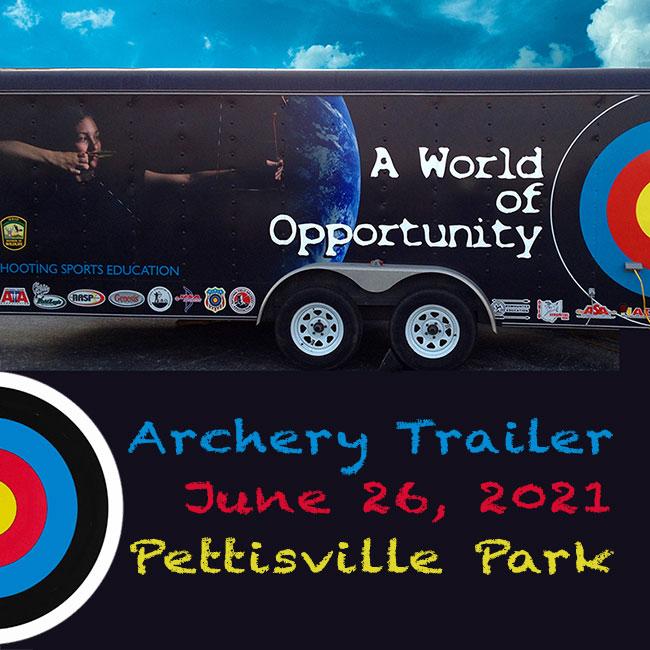 Archery Trailer Ohio DNR Wildlife Division