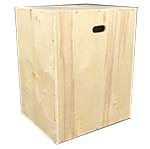 3 way wood plyo box