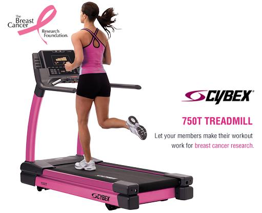 Cybex Treadmill Pink