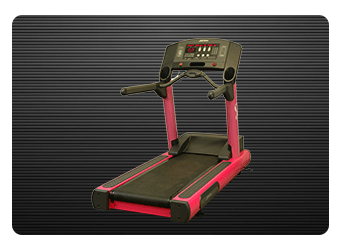 Pink Breast Cancer Awareness Treadmill