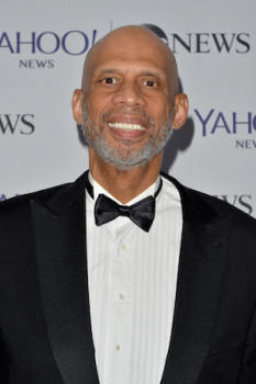 Kareem Abdul Jabbar at Pre White House Correspondents Dinner Reception Pre Party