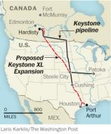 Keystone XL pipeline may threaten aquifer that irrigates much of the central U.S. - The Washington Post