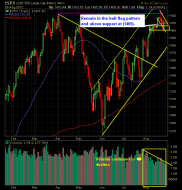 SP 500 Market Analysis 8-29-12