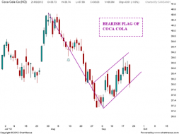 Bearish Flag of COCA COLA | Nifty charts and latest market updates