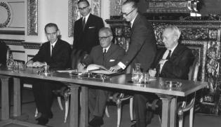 1968's Non-Proliferation Treaty Signing