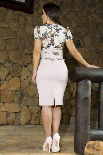 Vestido acetinado – Luciana Pais
