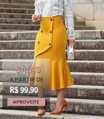 Compre Online Moda Evangélica e Moda Executiva, as melhores mascas Joyaly, Kauly, Luciana Pais, NK3 e Monia os melhores preços