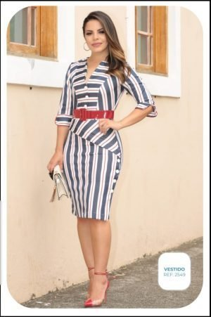 vestido alfaiataria, moda feminina online, moda evangélica