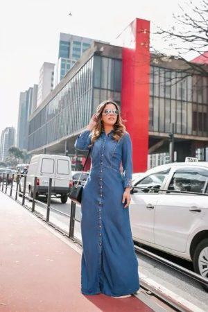 Vestido Longo Joyaly Jeans