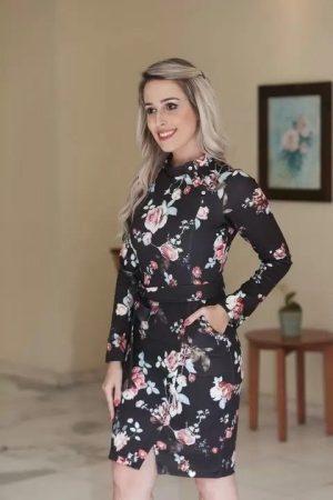 vestido joyaly moda evangélica, loja de moda evangélica online