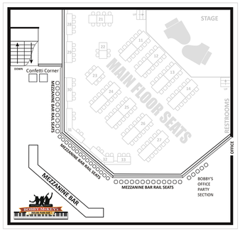 McKeys Floor Plan Mezze