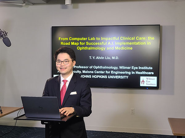 T.Y. Alvin Liu, MD (Wilmer Eye Institute/Johns Hopkins University)
