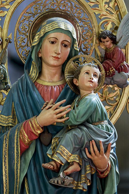 Virgen del Perpetuo Socorro - Iglesia de la Santísima Trinidad, Ciudad de México