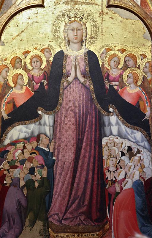 Nuestra Señora de la Merced, por Lippo Memmi - Catedral de Santa María, Orvieto (Italia)
