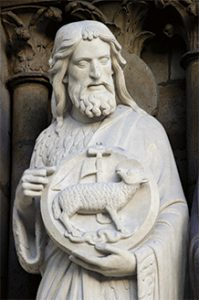 San Juan Bautista - Catedral de Notre Dame, París