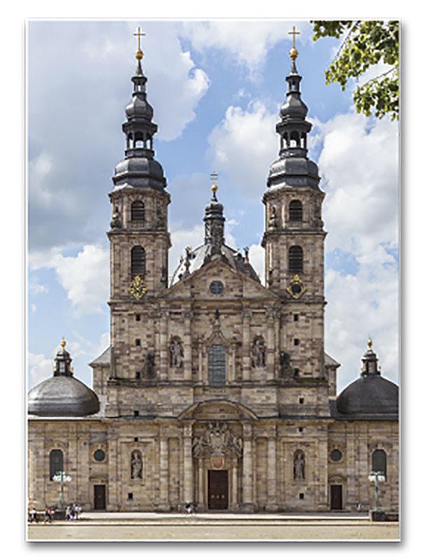 Catedral de Fulda (Alemania), erigida sobre la iglesia abacial fundada por San Bonifacio