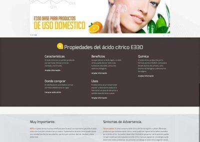 acidocitrico diseño web - acidocitrico 1 400x284 - Diseño Web