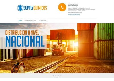 supplyquimicos diseño web - supplyquimicos 1 400x284 - Diseño Web