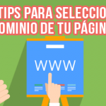 7 Tips para seleccionar el dominio de tu página web potencia la relevancia de tu página web con técnicas de seo - dominio web 150x150 - Potencia la relevancia de tu página web con técnicas de SEO