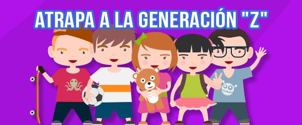 """Engancha a la Generación """"Z"""" el segmento digital más joven"""