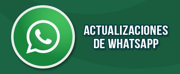 Conoce las últimas actualizaciones de WhatsApp que han sorprendido a los usuarios
