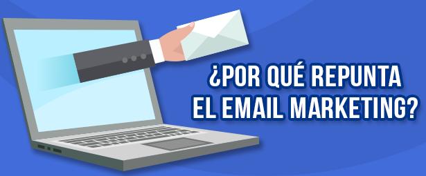Crecimientos del email marketing